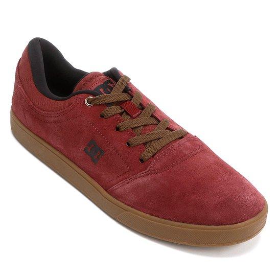 Tênis Dc Shoes Crisis LA Masculino - Bordô - Compre Agora  96b71c1216b6e