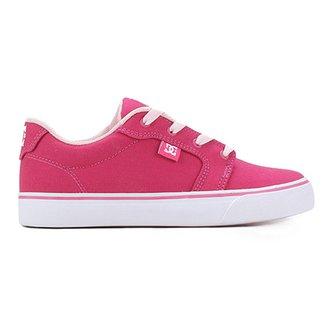 8d182988dd637 Tênis Infantil DC Shoes Anvil Tx La 1 Feminino