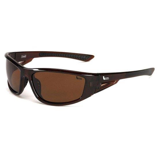 f60cfc3f63dac Óculos de Sol Coleman C6025C3 Lentes Polarizadas 100% UVA-UVB - Marrom