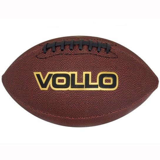 Bola Vollo Sports De Futebol Americano Tamanho Oficial 9 - Marrom ... 999c0a0fe7f