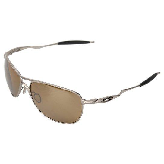 389324a254893 Óculos de Sol Oakley Titanium Crosshair Iridium - Compre Agora ...