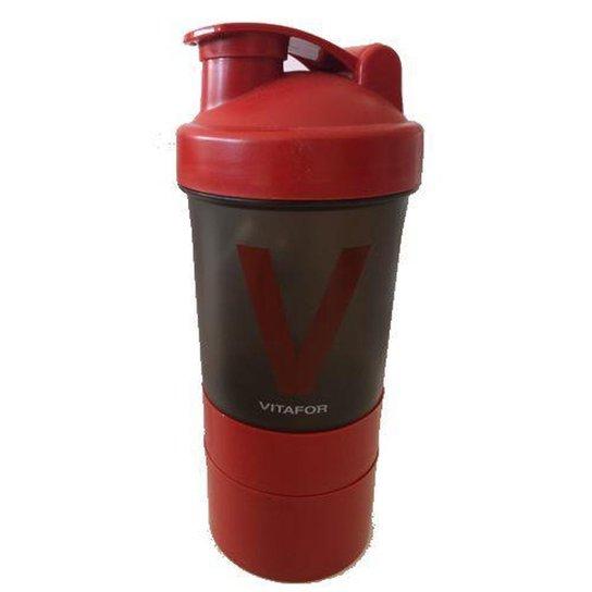 8f92851d524 Coqueteleira 400 ml Fume 3 Compartimentos - Vitafor - Compre Agora ...