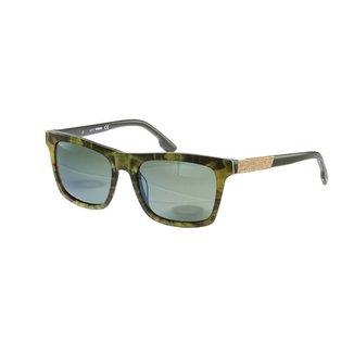 88a37e77d90e0 Óculos de Sol Diesel Casual Marrom