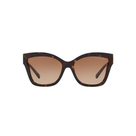 6cf58540b Óculos de Sol Michael Kors MK2072 Barbados Tartaruga Feminino - Marrom