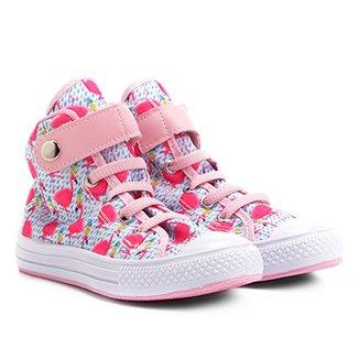 Tênis Infantil Cano Alto Kurz Flamingos Feminino 0b651beec4b77