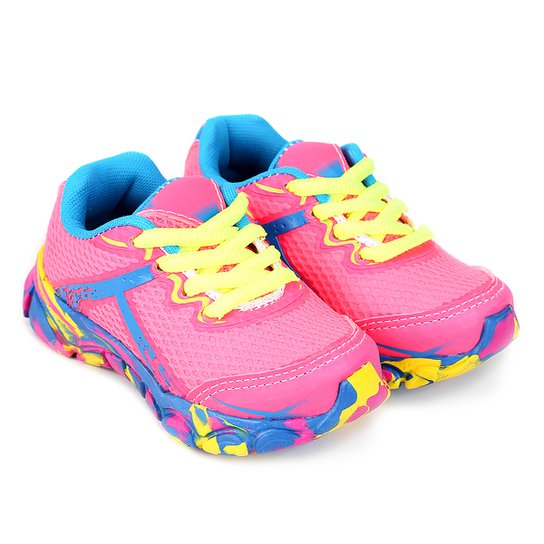 1da1df46739 Tênis Infantil Kurz Color Feminino - Pink - Compre Agora