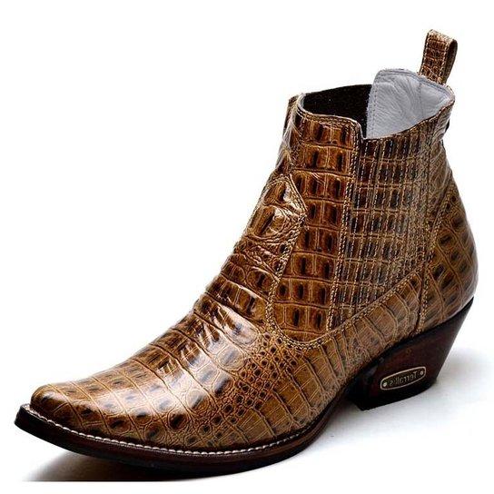 Bota Top Franca Shoes Country - Marrom - Compre Agora  0609ae9cd38