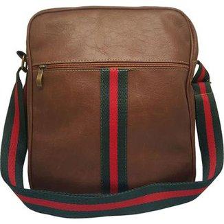 Compre Bolsa+masculina+estilo+carteiro Online   Netshoes bd70b61718