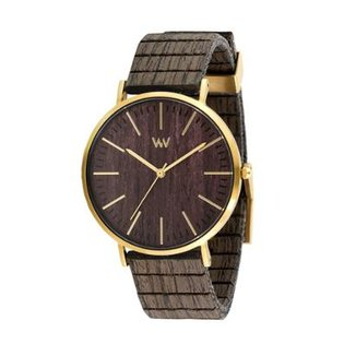 Relógio WeWOOD Horizon Gold Ebony 3855aeb14f2