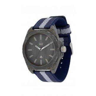 835d2a20f1d Relógio WeWOOD Phoenix 46 Teak Blue