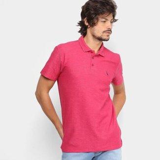 Camisa Polo Reserva Piquet Mesclada Masculina c6bbaf451b856