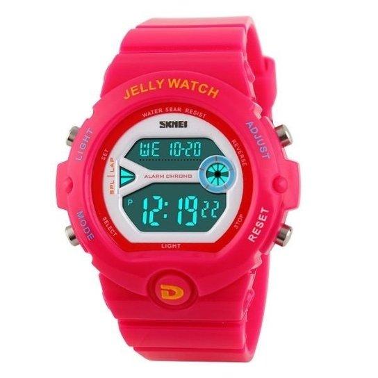 699d6d38ccd Relógio Feminino Skmei Digital 1153 VD - Pink - Compre Agora