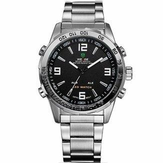 e663ede00db Relógio Weide Anadigi WH-1009