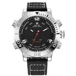 75a068fdb5e Relógio Weide Anadigi WH-6103