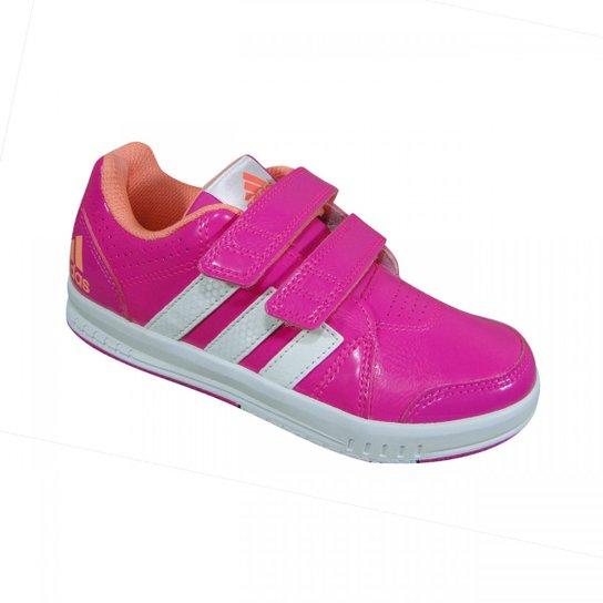 d11e0a55886 Tenis Adidas Lk Trainer 7 - Pink - Compre Agora