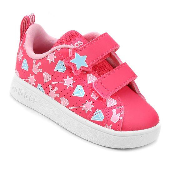 c3a57fe746dbe Tênis Infantil Adidas Vs Advantage Clean - Pink | Netshoes