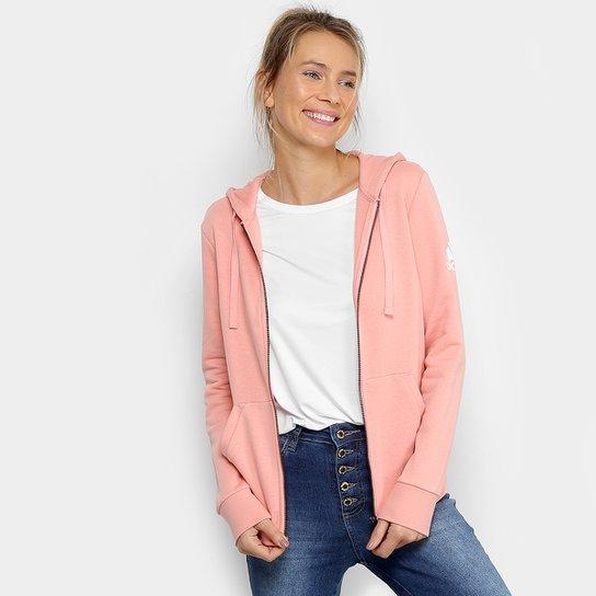 8ddaa6d662d Jaqueta Adidas Ess Solid Fz Feminina - Rosa - Compre Agora