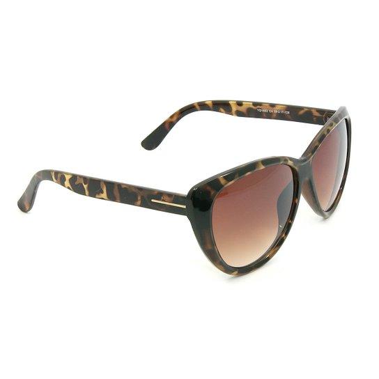 4512065d03ff6 Óculos Bijoulux de Sol Shape Gatinho de Oncinha - Compre Agora ...
