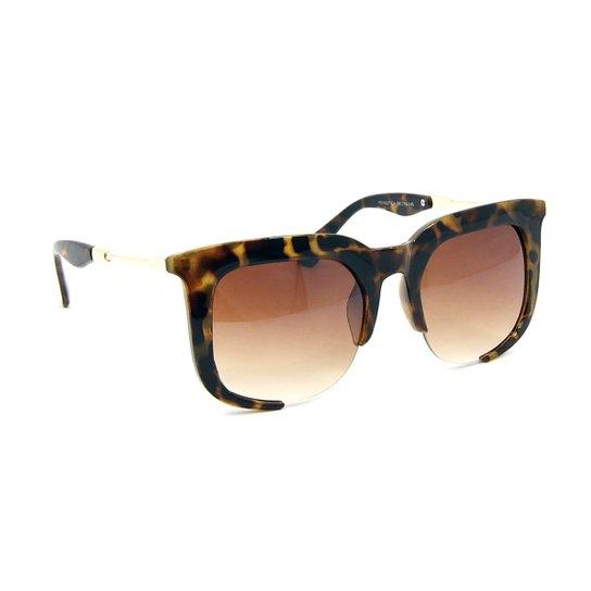 b7857f67a Óculos Bijoulux de Sol Oncinha Estilo Rasoir Sum da Miu Miu | Netshoes