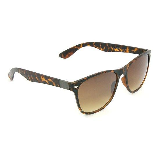 e6b49bae8a9b7 Óculos Bijoulux de Sol de Oncinha Estilo Wayfarer - Compre Agora ...