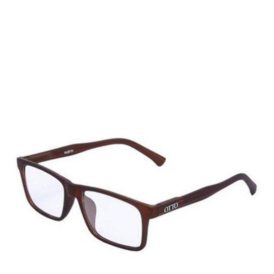 Armação de Óculos Receituário OTTO Retângular - ZT001 - Marrom ... b88543ec80