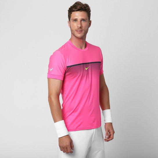 27f195cc69 Camiseta Nike Challenger Rafael Nadal Prem Crew - Compre Agora ...