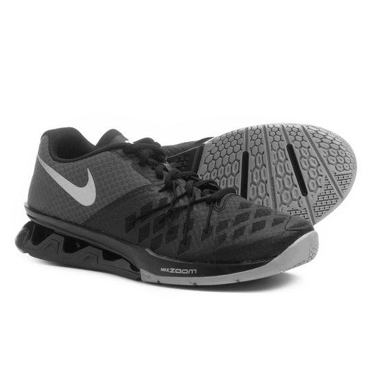0e576f846eb Tênis Nike Reax Lightspeed 2 Masculino - Preto e Prata - Compre ...