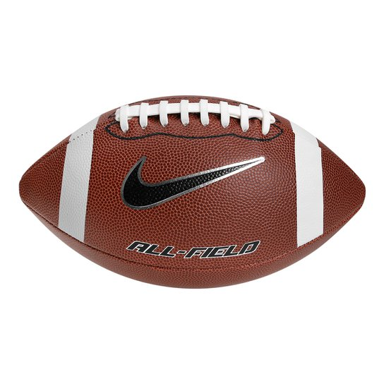3175345ee8b1b Bola de Futebol Americano Nike All-Field 3.0 FB 9 Official - Marrom ...