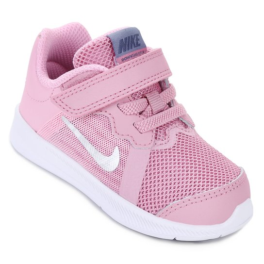 498cf047b81 Tênis Infantil Nike Downshifter 8 Gtv Com Velcro Feminino - Pink ...