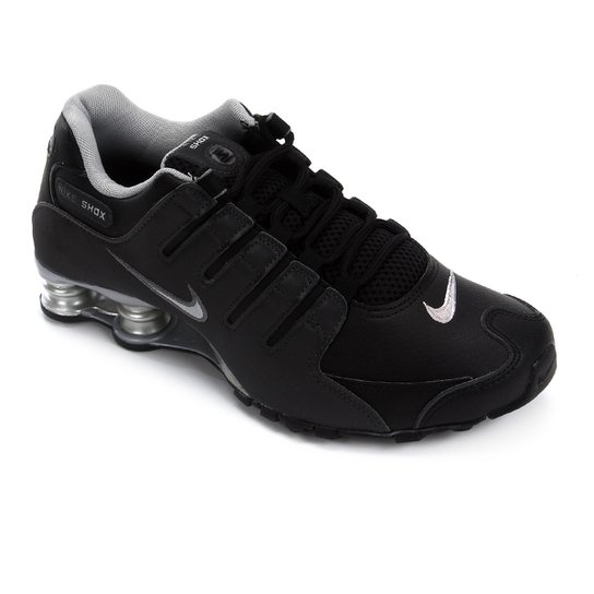 huge discount 9507c 95ea2 Tênis Nike Shox Nz Eu Masculino - Preto+Prata