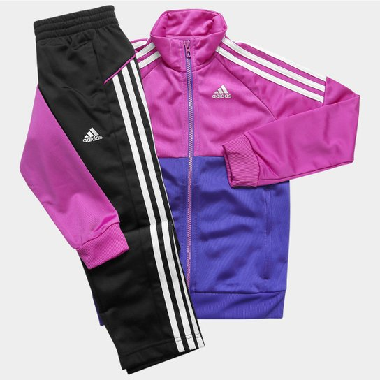 5ed70a9f288 Agasalho Adidas YK TS Gear KN O Infantil - Compre Agora