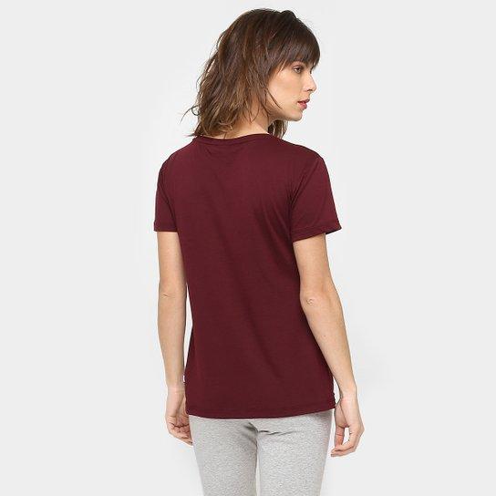 35b5fbde6e97d Camiseta Adidas Originals Graphic Trefoil - Vinho Camiseta Adidas Originals  Graphic Trefoil - Vinho ...