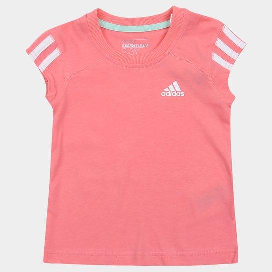 1650fc715cf96 Camiseta Adidas Lg Ess Infantil - Compre Agora