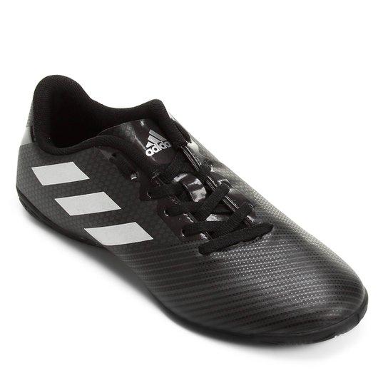 Chuteira Futsal Adidas Artilheira 17 IN - Preto e Prata - Compre ... e9ac2774e99e5