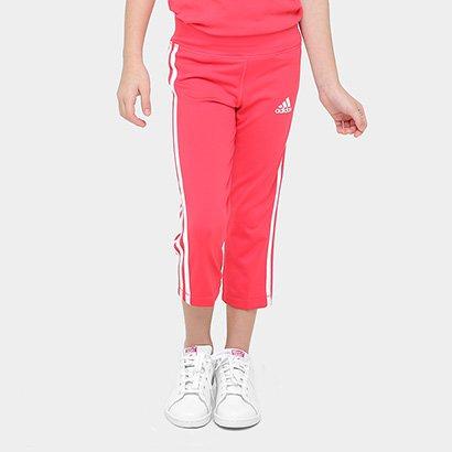 Calça Corsário Infantil Adidas Gear Up Feminina