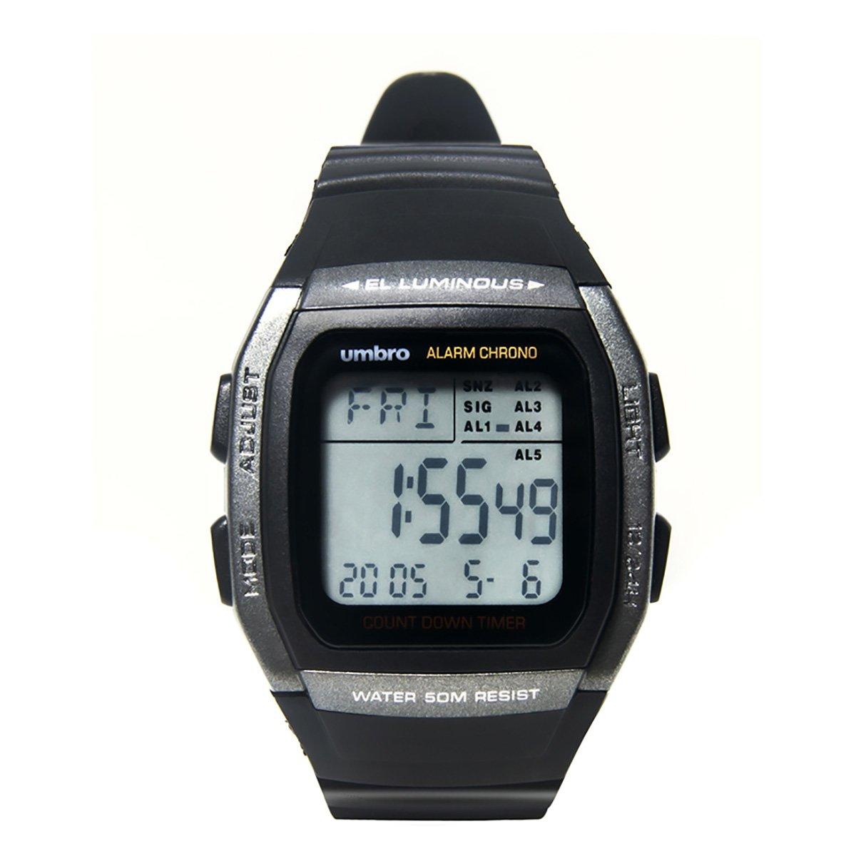 Relógio Umbro Digital UMB-112 Retrô
