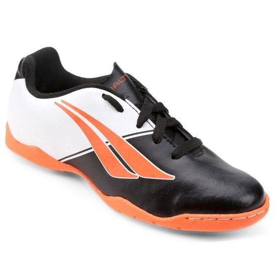 3a667c829f961 Chuteira Futsal Infantil Penalty Matis K Soccer 7 - Preto e Laranja ...