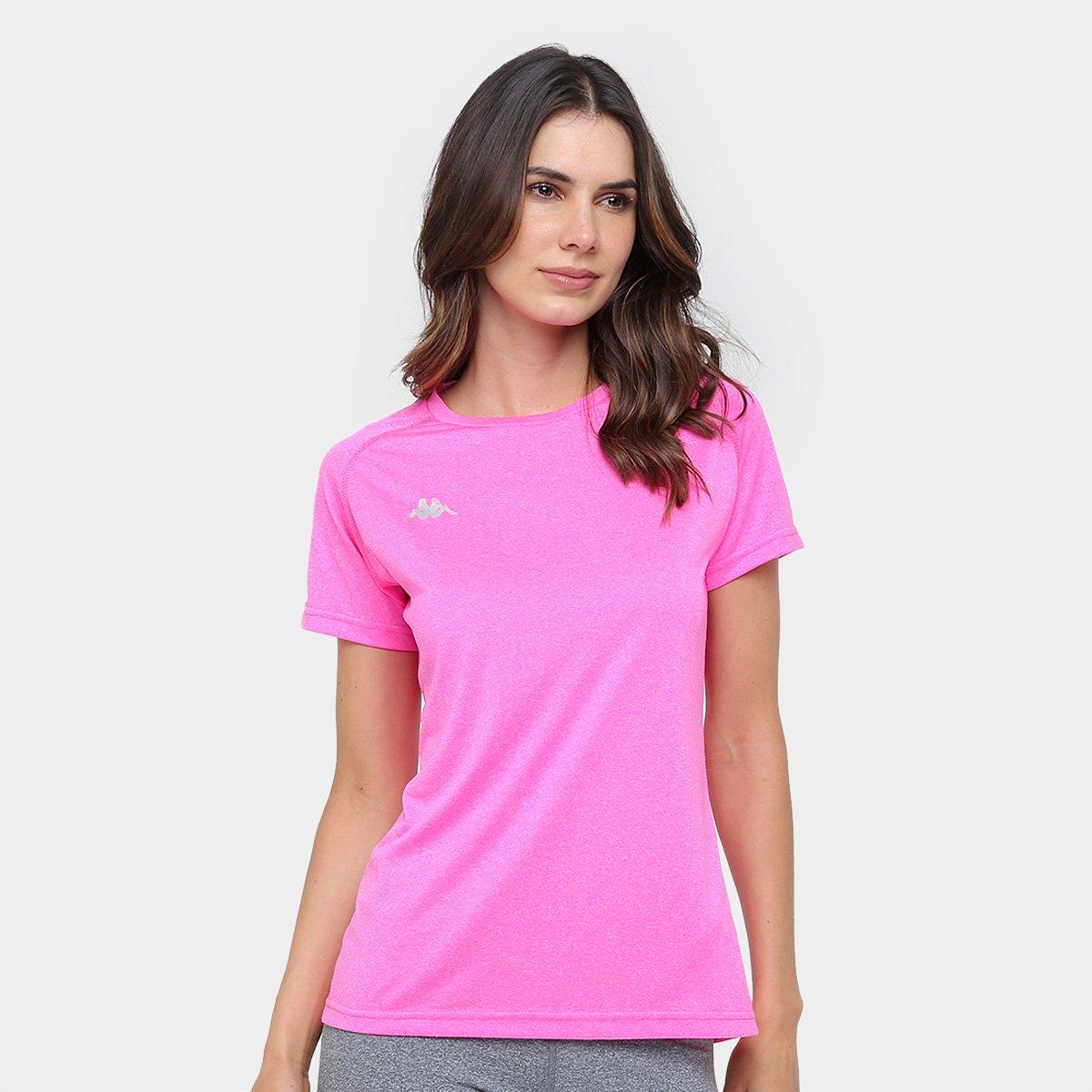 Camiseta Kappa Marseille Feminina de3c5a64664d6