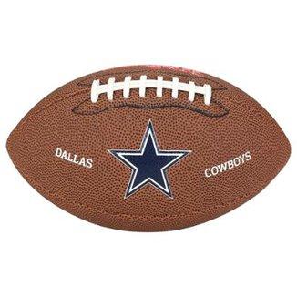 Bola Futebol Americano Wilson NFL Dallas Cowboys 46bdde454d3bf