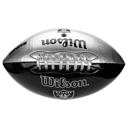 Bola de Futebol Americano Wilson Oakland Raiders - Compre Agora ... 4ee4f1d95a22b