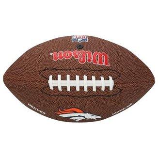 cb7227311e99a Bola de Futebol Americano Wilson Denver Broncos NFL