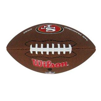 Bola De Futebol Americano Wilson San Francisco 49Ers 4cd5604f40466