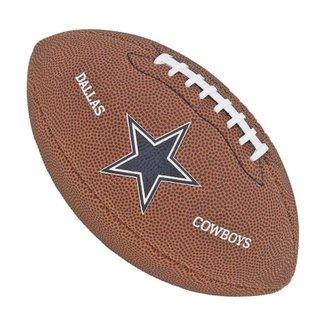 Bola de Futebol Americano NFL Team Jr. Dallas Cowboy - Wilson 49433a68f85c8