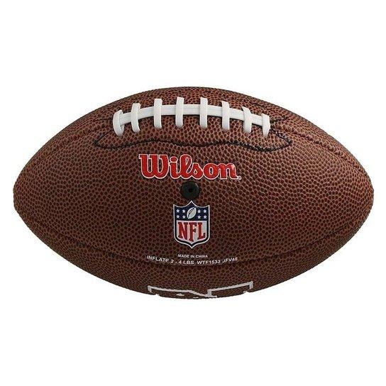 45eabc60f Bola de Futebol Americano NFL Team Jr. São Francisco - Wilson - Marrom