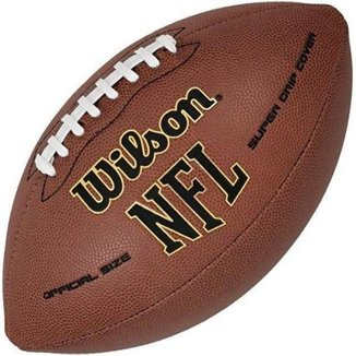 Bola de Futebol Americano WILSON NFL SUPER GRIP ULTRA COMPOSITE - OFICIAL fbcc7e0c703cc