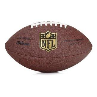 8371b148ab Bola de Futebol Americano Wilson NFL Duke Pro - Réplica Tamanho Oficial
