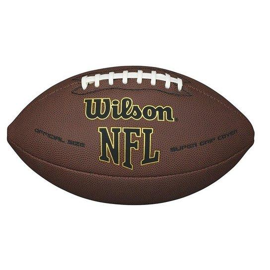 ab326ee000 Bola Futebol Americano Wilson Nfl Super Grip - Compre Agora