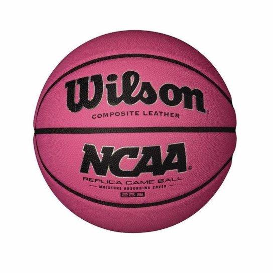 3e91e4389ca02 Bola de Basquete Wilson NCAA - Pink - Compre Agora