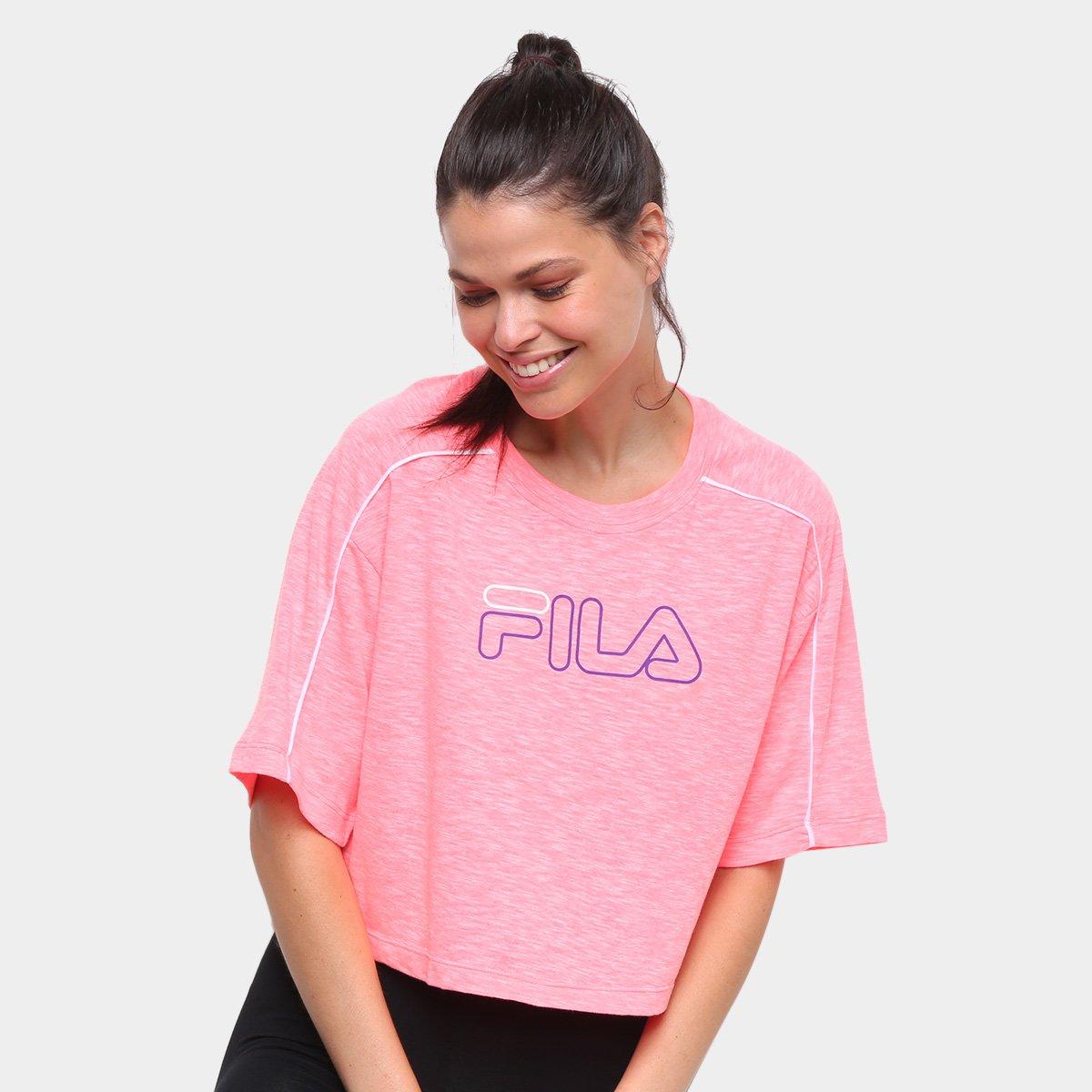 Blusa Fila Neon Feminina