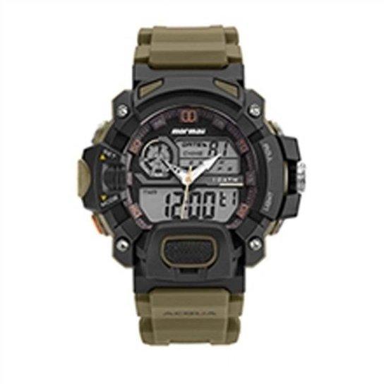 Relógio Mormaii Masculino Acqua MOAD1132 8V - Marrom - Compre Agora ... 78138f08f0
